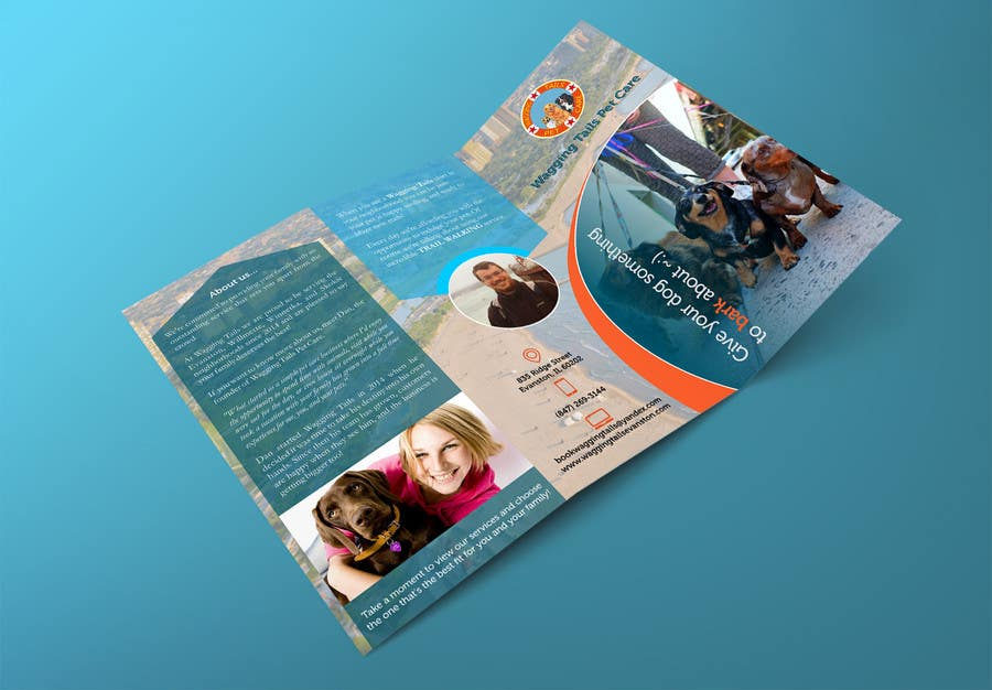 Contest Entry #                                        5                                      for                                         Design a brochure for a pet care company