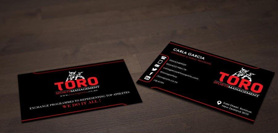 Penyertaan Peraduan #                                        6                                      untuk                                         Design a Business Cards for a Sports Company