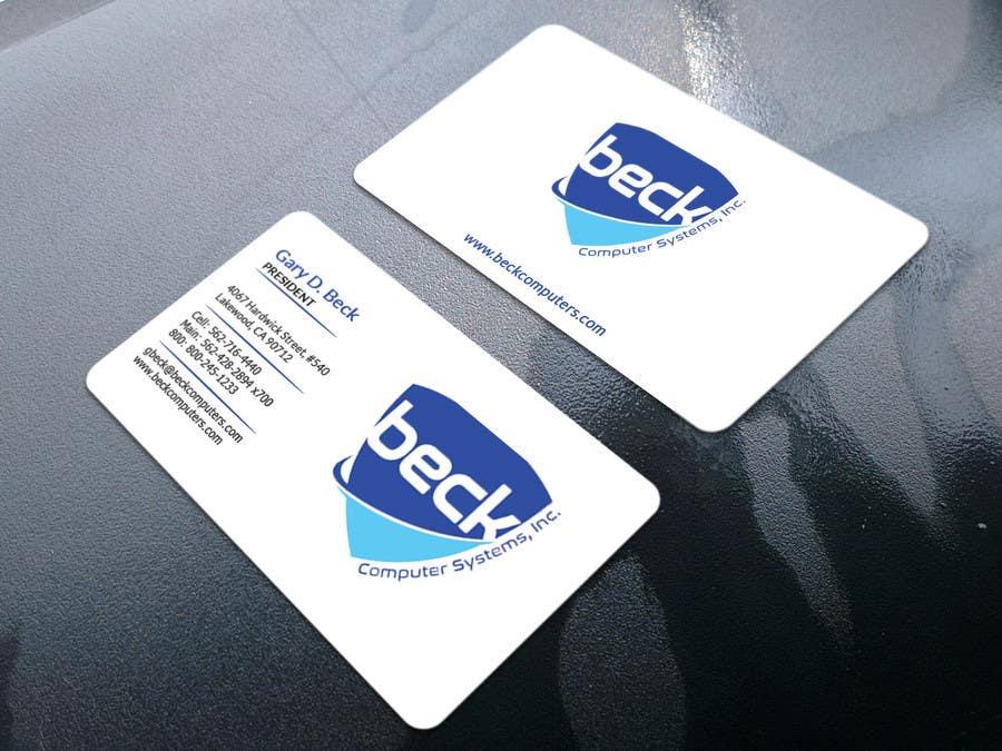 Penyertaan Peraduan #264 untuk Design some Business Cards