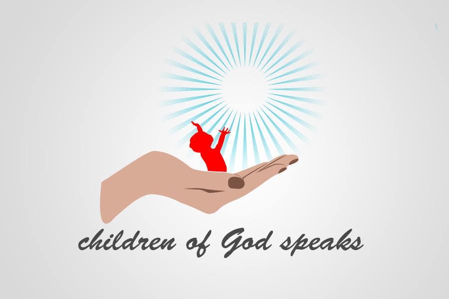 Конкурсная заявка №103 для Logo Design for www.childrenofgodspeaks.com