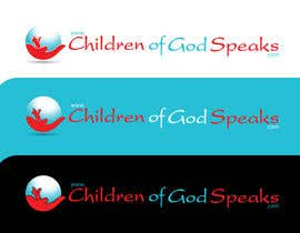 #76 para Logo Design for www.childrenofgodspeaks.com por SUBHODIP02