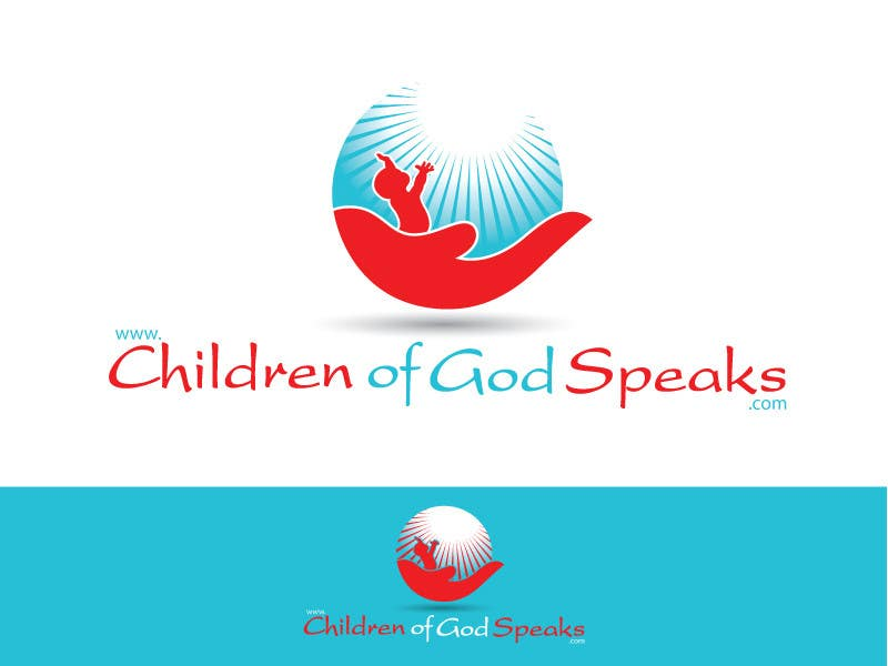 Конкурсная заявка №73 для Logo Design for www.childrenofgodspeaks.com