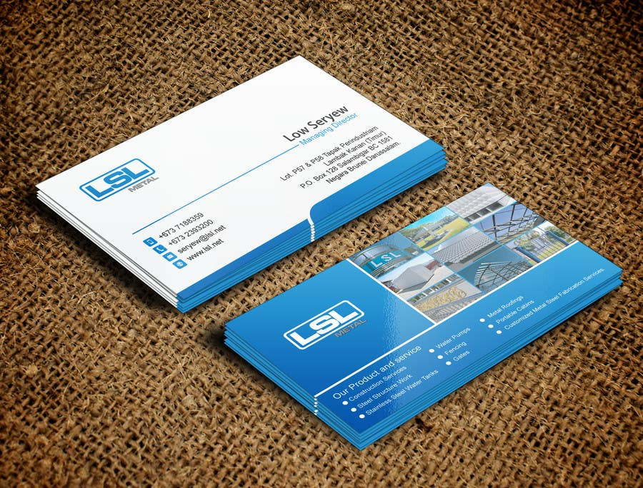 Entry 83 by mdreyad for design some business cards for lsl group of business card colourmoves