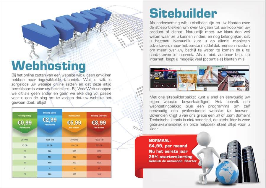 Penyertaan Peraduan #                                        15                                      untuk                                         Design a Flyer for hosting company