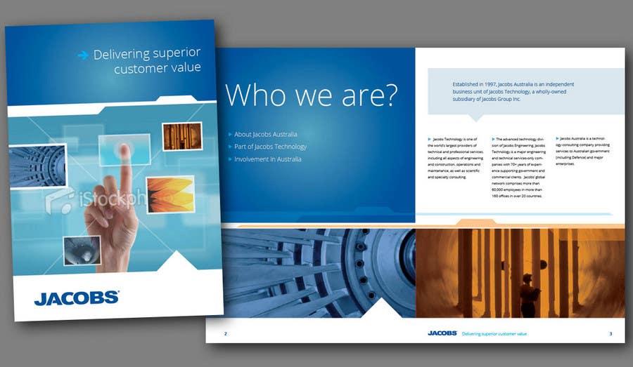 Konkurrenceindlæg #                                        25                                      for                                         Brochure Design for Jacobs Australia