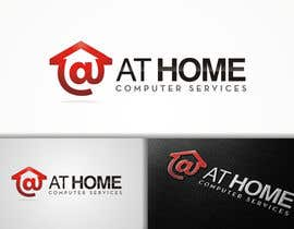 #141 untuk Logo Design for At Home Computer Services oleh flov