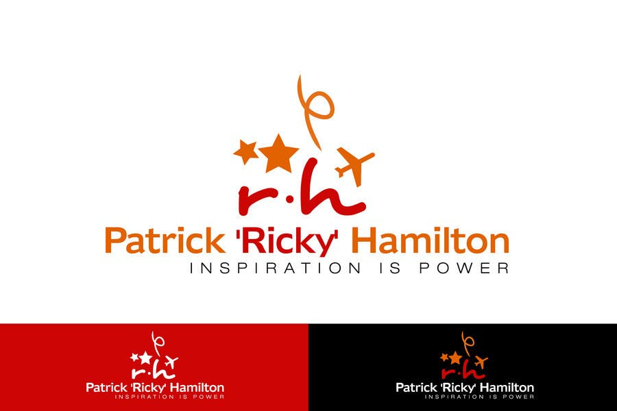 Proposition n°33 du concours Logo Design for It's for my personal blog. Name: Patrick 'Ricky' Hamilton