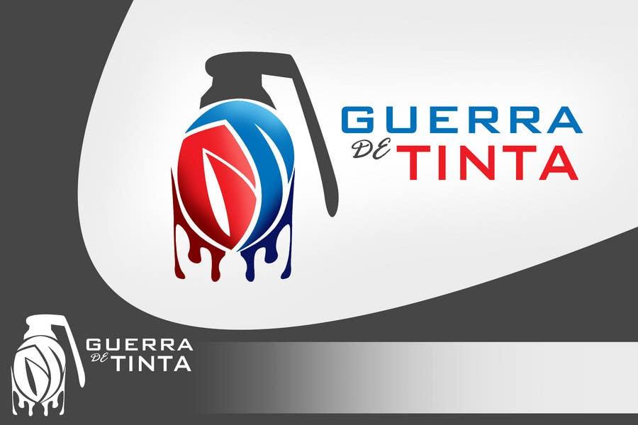 Inscrição nº                                         143                                      do Concurso para                                         Logo Design for Guerra de Tinta