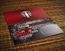 #25 для Design some Business Cards for Muscle Thug от LIPScreations