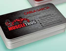 #34 для Design some Business Cards for Muscle Thug от LIPScreations