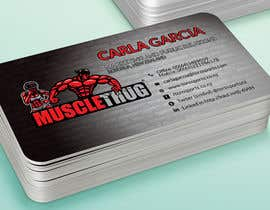 #35 для Design some Business Cards for Muscle Thug от LIPScreations