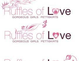 nº 165 pour Logo Design for Ruffles of Love par sanyak