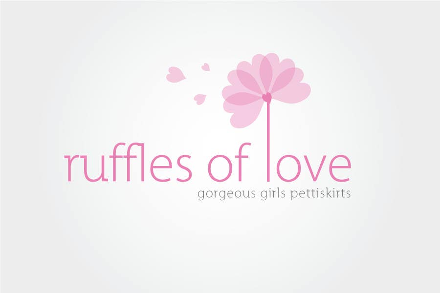 Entry #177 by ClarkSpendelow for Logo Design for Ruffles of Love