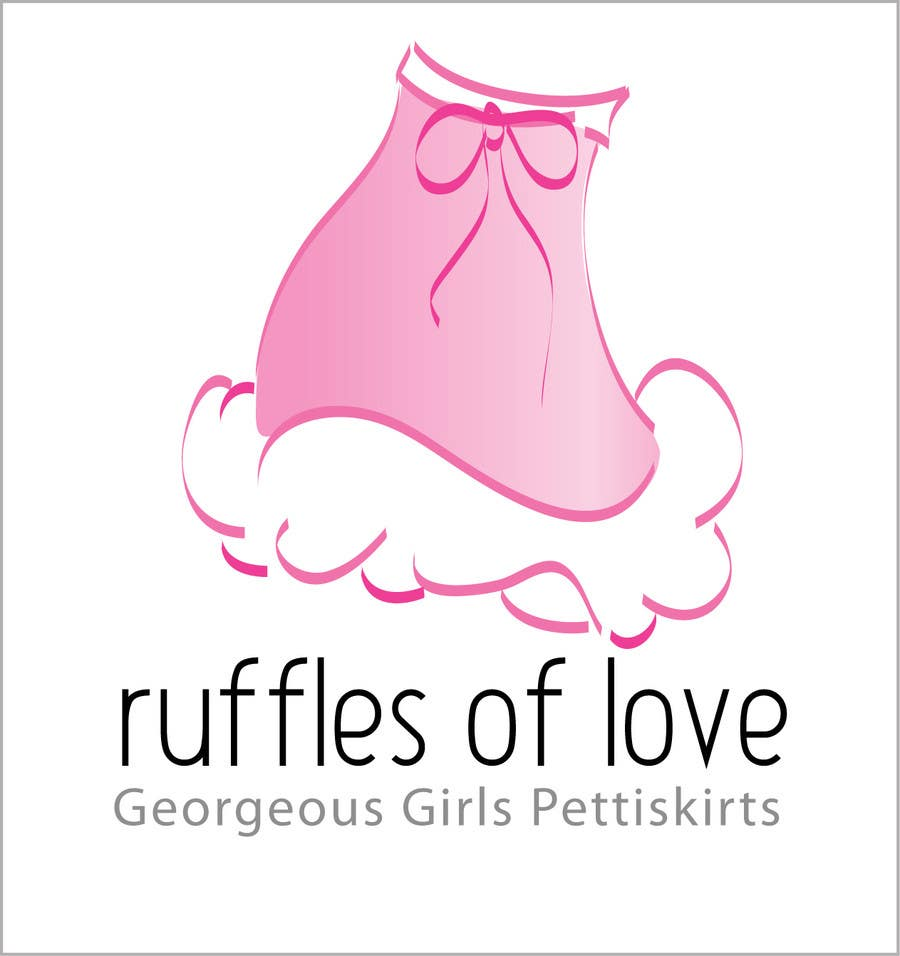 Entry #222 by AdartIndia for Logo Design for Ruffles of Love