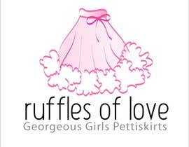 nº 221 pour Logo Design for Ruffles of Love par AdartIndia