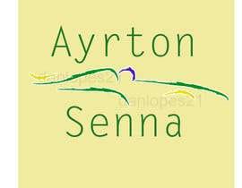 #10 para Preciso de um icone original sobre Ayrton Senna (sem foto) por daniellopes21