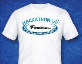 #85 untuk Design a T-Shirt for the Freelancer.com Hackathon !! oleh porderanto