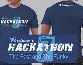 #42 untuk Design a T-Shirt for the Freelancer.com Hackathon !! oleh antaresart26