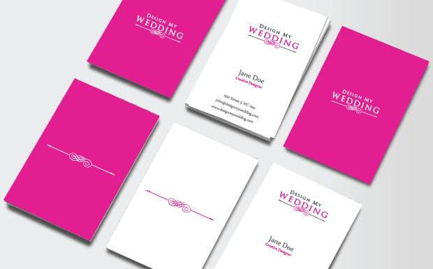 Wedding planner business logo design