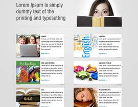 #74 para Wordpress Theme Design for Teaching English por tania06