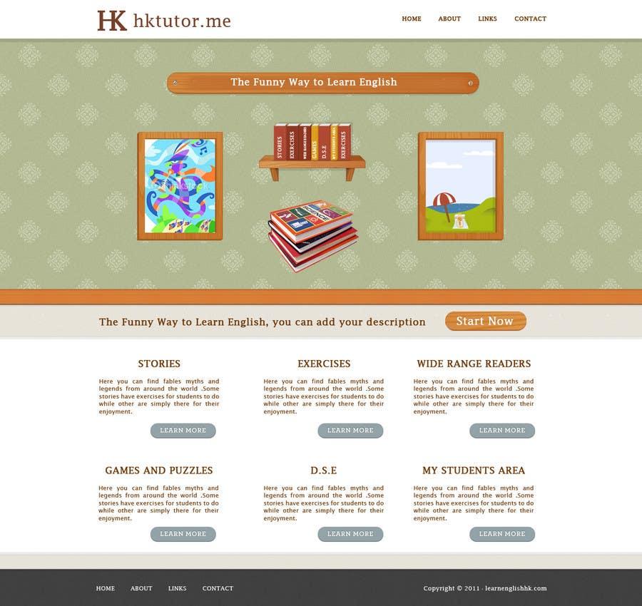 Конкурсная заявка №47 для Wordpress Theme Design for Teaching English