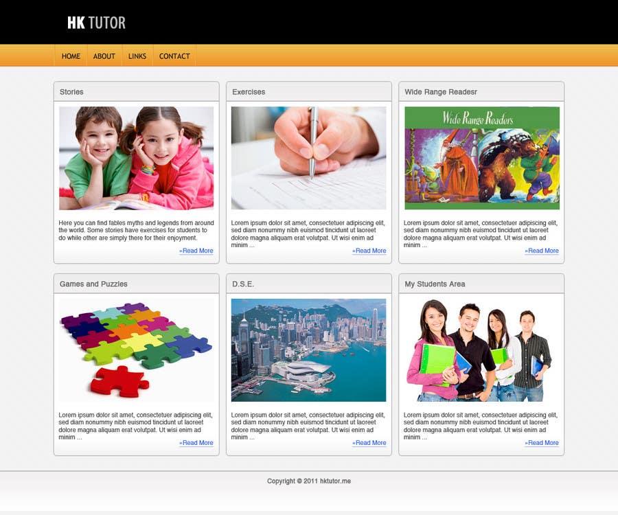 Конкурсная заявка №33 для Wordpress Theme Design for Teaching English
