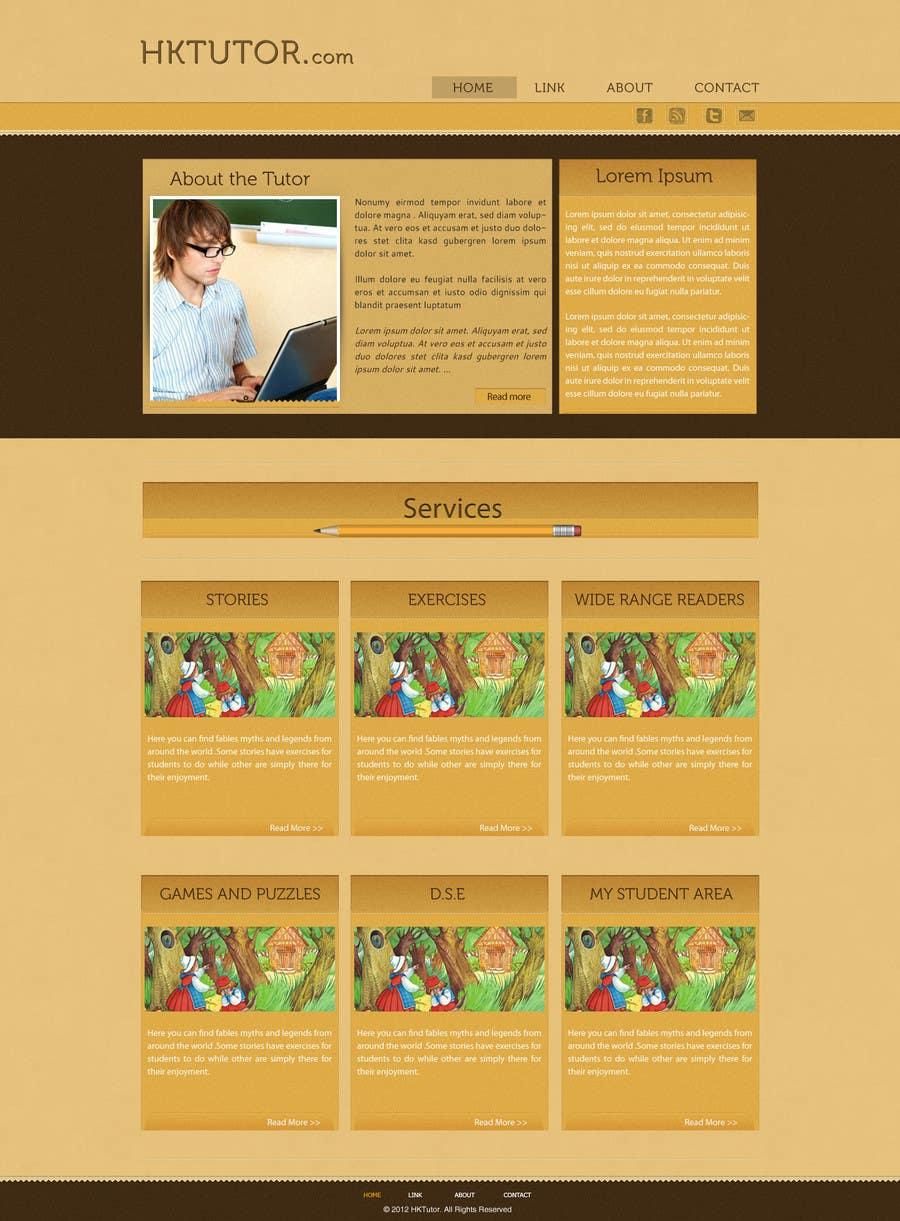 Конкурсная заявка №71 для Wordpress Theme Design for Teaching English