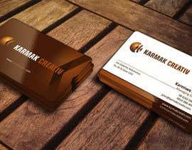 ezesol tarafından Design some Business Cards for Karmak Creativ için no 14