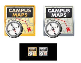 #34 para Graphic Design for Campus Maps (iTunes Art) por marijoing