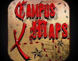 #41 para Graphic Design for Campus Maps (iTunes Art) por gunnercantu