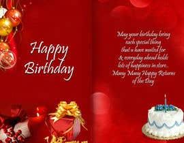 "goutam08 tarafından ""Design Birthday Ecards for 123Greetings.com –The world's largest ecards Website"" için no 17"