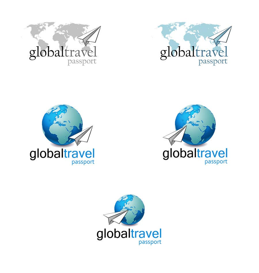 Konkurrenceindlæg #429 for Logo Design for Global travel passport