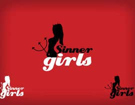 #178 para Logo Design for Sinner Girls por Clarify