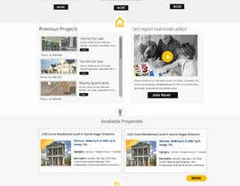MagicalDesigner tarafından Design a Website Mockup for Residential Builder / Real Estate Developer için no 13
