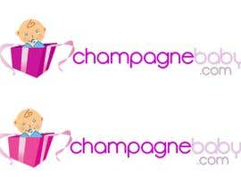 #105 for Logo Design for www.ChampagneBaby.com af Grupof5
