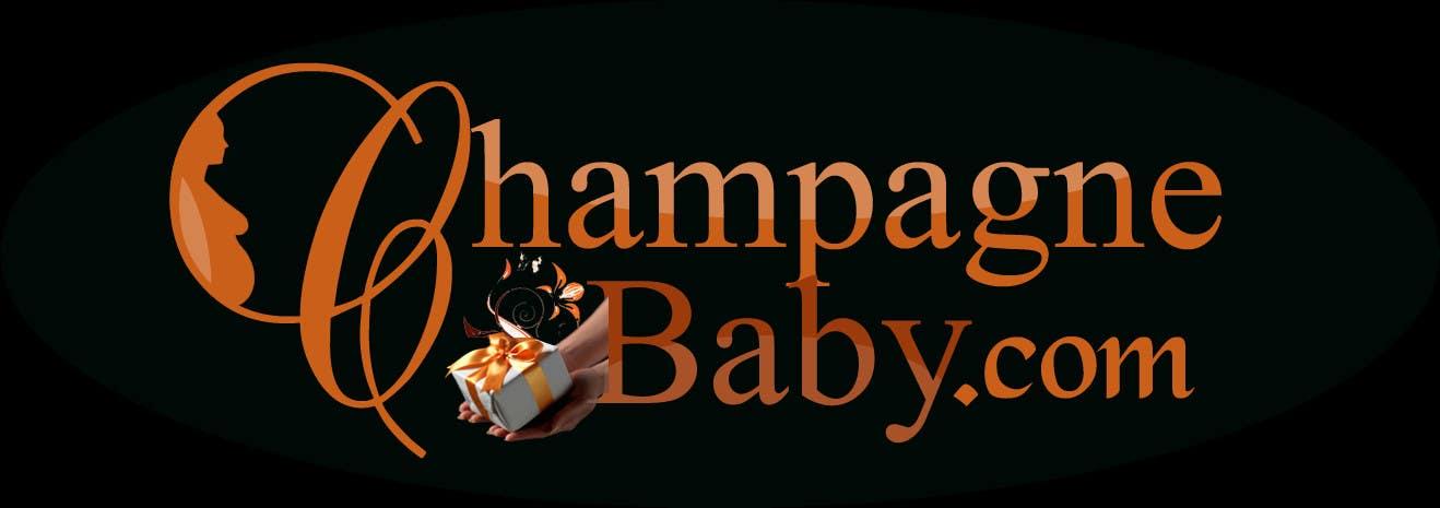 Конкурсная заявка №38 для Logo Design for www.ChampagneBaby.com