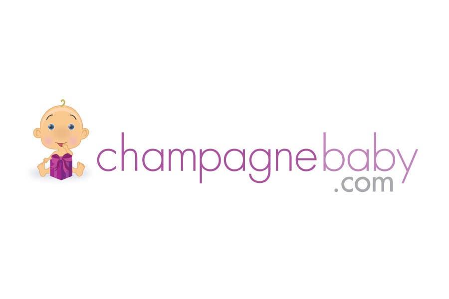 Конкурсная заявка №110 для Logo Design for www.ChampagneBaby.com