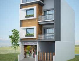 Nikunj051186 tarafından Do some 3D Modelling for Kothari House Elevation için no 44