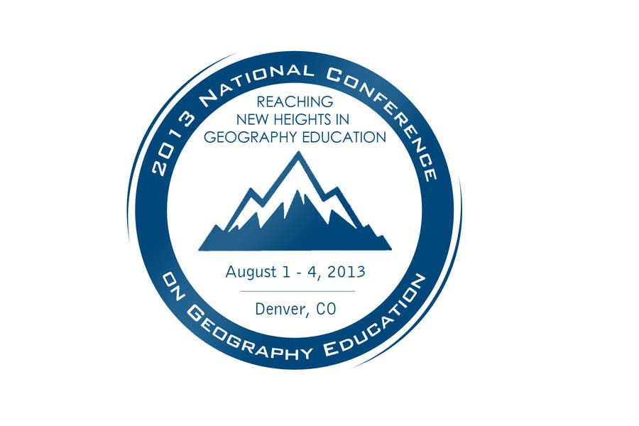 Proposition n°                                        33                                      du concours                                         Graphic Design for 2013 National Conference on Geographic Education