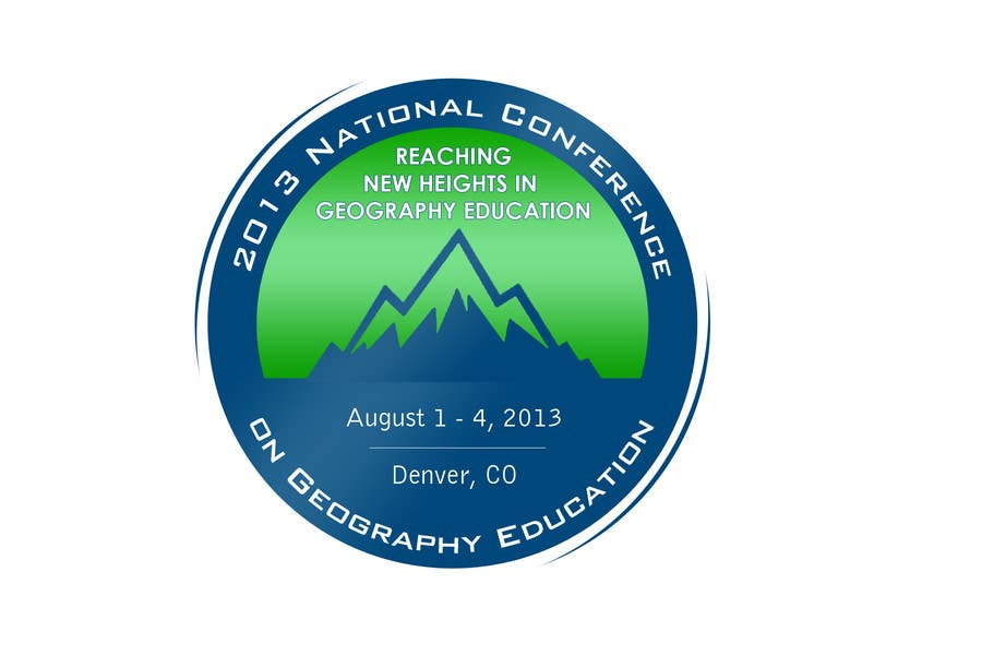 Proposition n°                                        34                                      du concours                                         Graphic Design for 2013 National Conference on Geographic Education