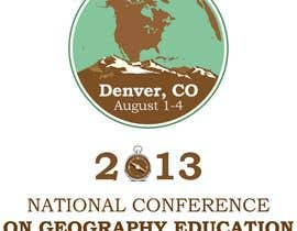 #18 for Graphic Design for 2013 National Conference on Geographic Education af andra0505