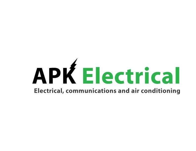Konkurrenceindlæg #173 for Logo Design for APK Electrical