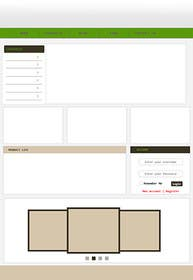 #3 for Design a Website Mockup for ecommerce site dresses and shoes by happytum