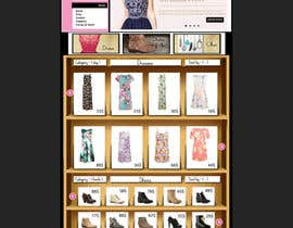 #30 for Design a Website Mockup for ecommerce site dresses and shoes by RaAbdan