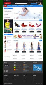 #18 for Design a Website Mockup for ecommerce site dresses and shoes by phamtech211