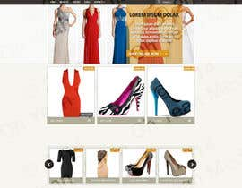 #8 for Design a Website Mockup for ecommerce site dresses and shoes by ohyeahmedia