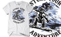 Graphic Design Inscrição do Concurso Nº9 para Alpine Sport T Shirt Design (1 to 3 colors)