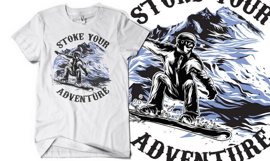 Inscrição nº                                         9                                      do Concurso para                                         Alpine Sport T Shirt Design (1 to 3 colors)