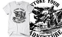 Graphic Design Inscrição do Concurso Nº10 para Alpine Sport T Shirt Design (1 to 3 colors)