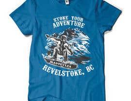 #32 para Alpine Sport T Shirt Design (1 to 3 colors) por valentinmihai07